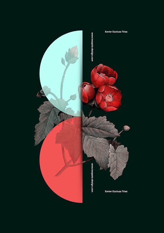 Poster by Xavier Esclusa Trias Twopots Design Studio: