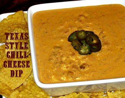Cooking with K: Texas Style Chili Cheese Dip