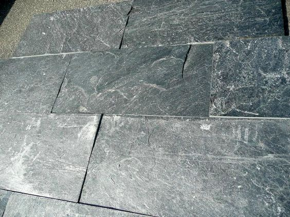 Natural And More Grey Stones Floors Tile Natural Natural Stones