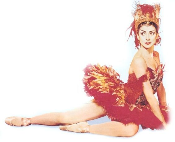 Margot Fonteyn as firebird