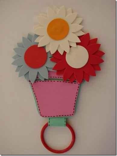 Flores Goma Eva Infantiles Simple Top Com Anuncios De Rosas Goma