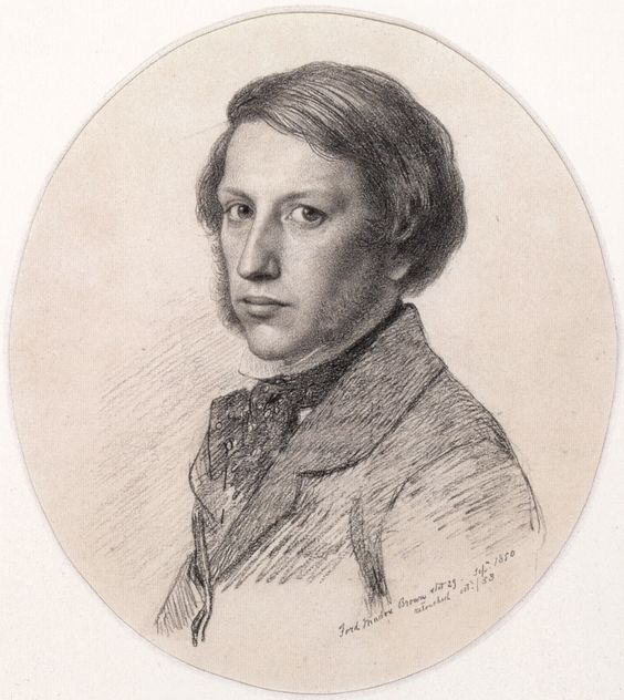 autorretrato de Ford Madox Brown