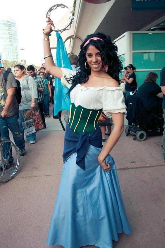 Cosplay comic con esmeralda