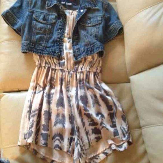 Forever 21 romper! NWT romper size S and Jacket size M fits a S as well! Forever 21 Other