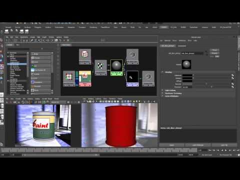 mental ray Colormix Node - YouTube