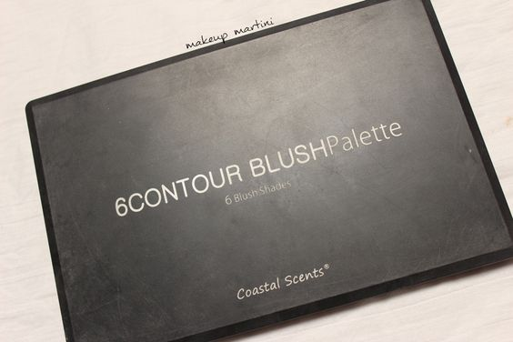 Coastal Scents Contour Blush Palette