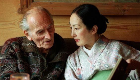 Balthus with his wife, Setsuko, in 1998. Reuters; AFP; Corbis; Harumi Klossowska…