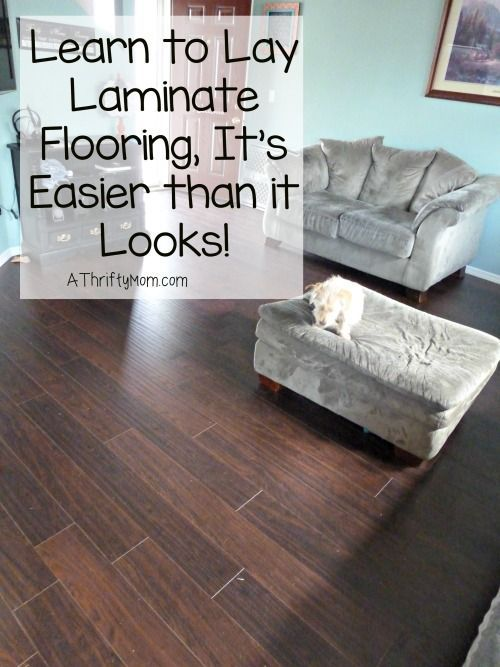 learn to lay laminate flooring its easier than it looks