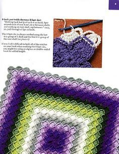 Scanned pages of a crochet book are on this blog. They show how to do Bavarian crochet. I'm pretty sure this is copyright infringement, though. :/