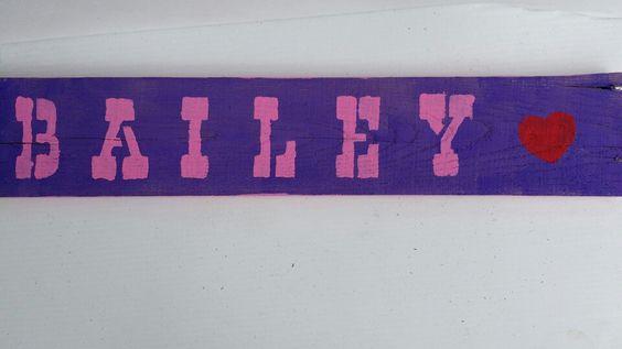 Name Pallet Sign. . $25