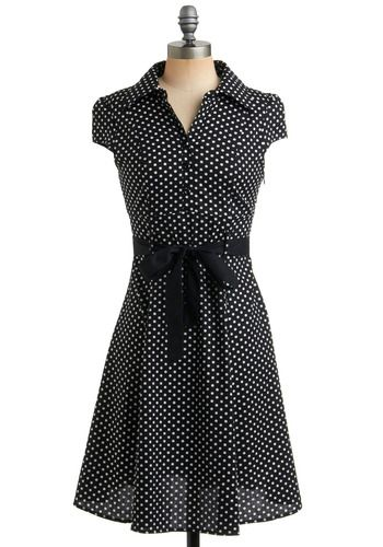 Keep up with the fast tempo of trendsetting style, and swing into a look of pure, polished sophistication with this adorable, vintage-inspired, A-line frock.  $49.99