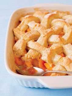 Peach+Cornmeal+Cobbler  - Delish.com