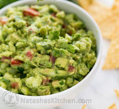 Spicy Guacamole Recipe Recipe via @SparkPeople