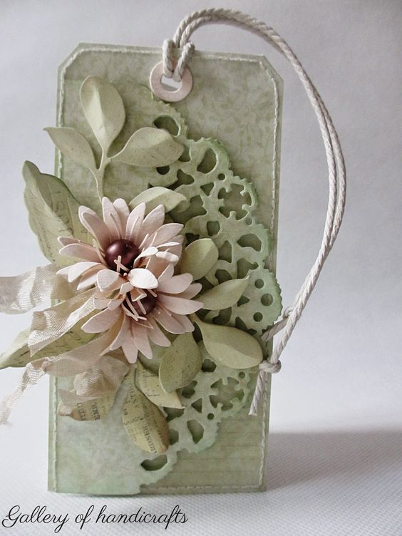 Gallery of handicrafts: Pastelowy tag