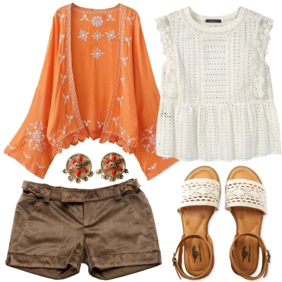 Boho by seth133 on Polyvore featuring Violeta by Mango, Just Cavalli, Aéropostale and Chanel