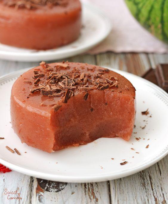 Watermelon Pudding – Gelatina de Sandía