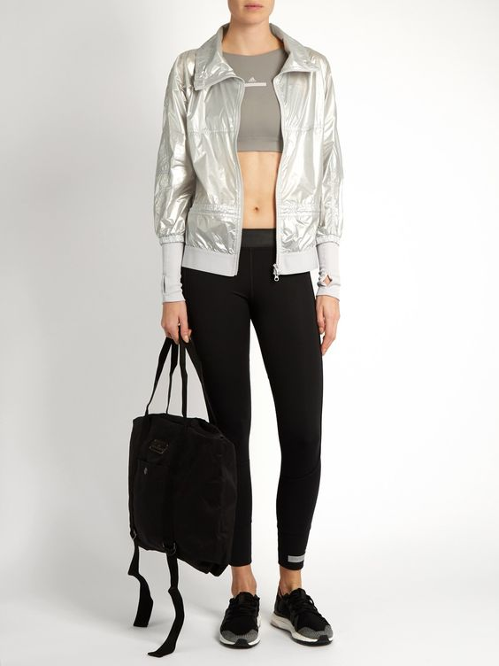 Run Metallic performance jacket  | Adidas By Stella McCartney | MATCHESFASHION.COM