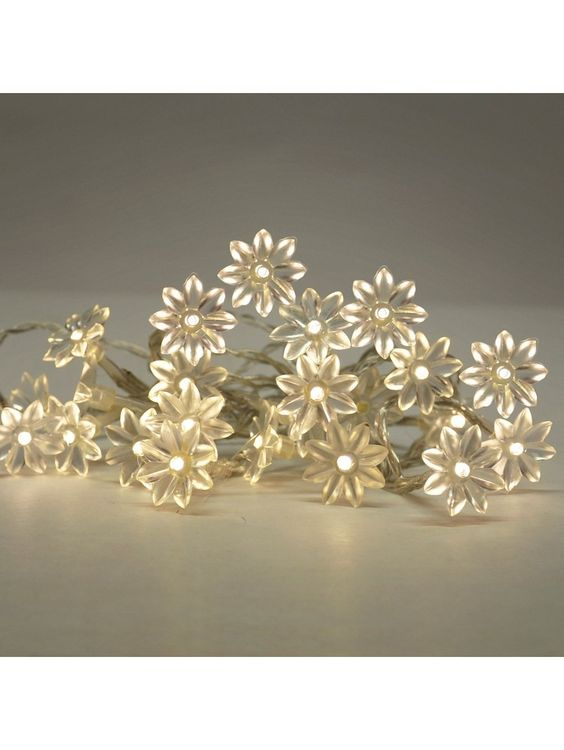 Sunflower String LED Fairy Lights -  Battery Operated