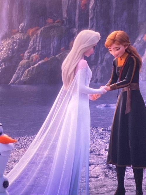 Frozen 2 Elsa New Fifth Element White Dress Frozen Disney Movie Disney Princess Frozen Disney Princess Wallpaper