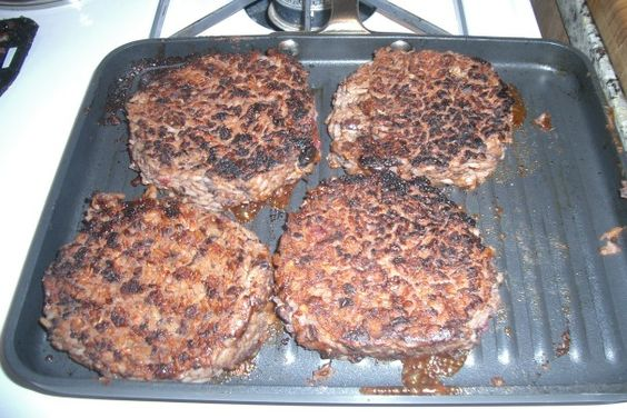 Houston's Restaurant Copycat Veggie Burgers. Photo by Chef #919095