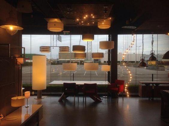 Showroom winkel . huisdecoratie interieur verlichting voor ...