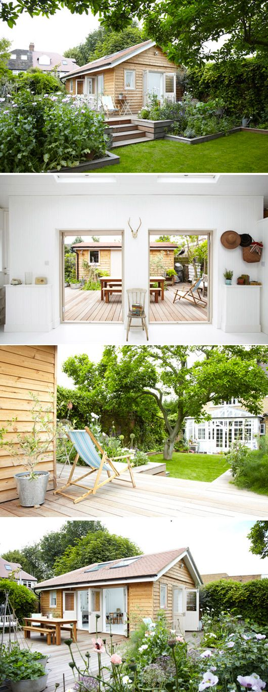 (2nd pic down) would love our deck to connect to a converted garage