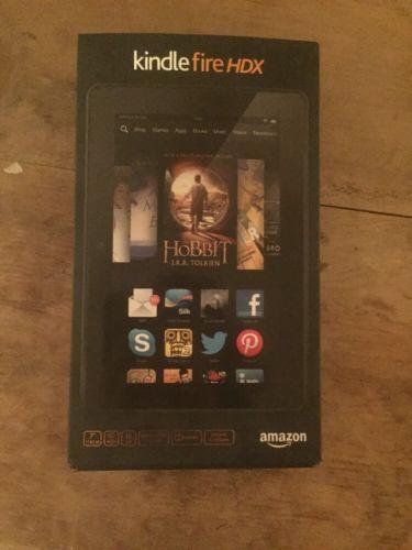 Amazon Kindle Fire HDX 16GB Wi-Fi 7in - Black https://t.co/5piiiB0Byc https://t.co/N8Qc4oyL5s