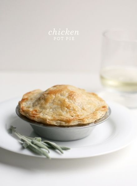 Chicken Pot Pies. A family favorite. Great recipe!  Perfect for when your grocery store has rotisserie chickens on sale.