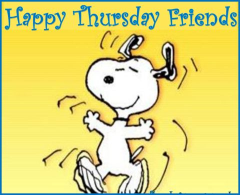 Wish you a Happy Thursday!! :) #happythursday #snoopy #haveagreatday: