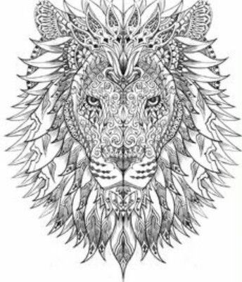 lion with mandala type face piercings tattoos pinterest mandalas lion and type face. Black Bedroom Furniture Sets. Home Design Ideas