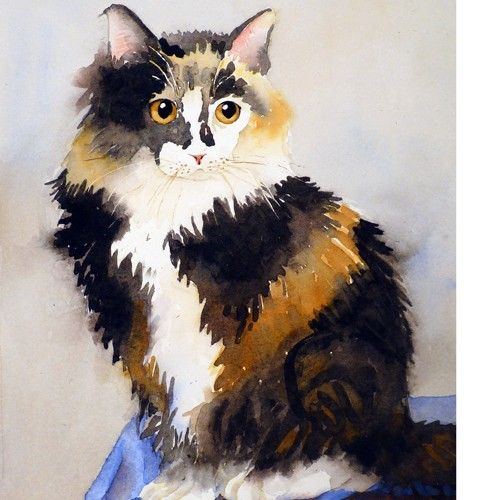 LaBerge ~ original watercolor painting.