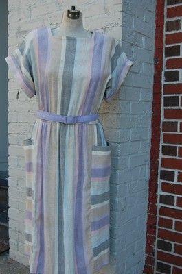 Striped Leslie Fay.  Amazeballs.