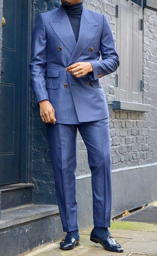 Double Breasted Men S Suits Are Back And More Stylish Then Ever