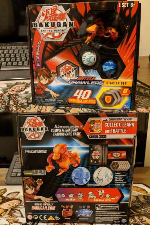 Ccg Individual Cards 183454 Bakugan Battle Planet Starter Set