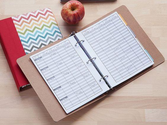 Teacher Planner