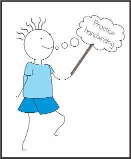 speech bubbles for handwriting practice