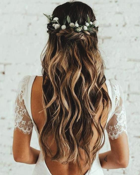 72 Romantic Wedding Hairstyle Trends In 2019 Hair Styles Long Hair Styles Medium Length Hair Styles