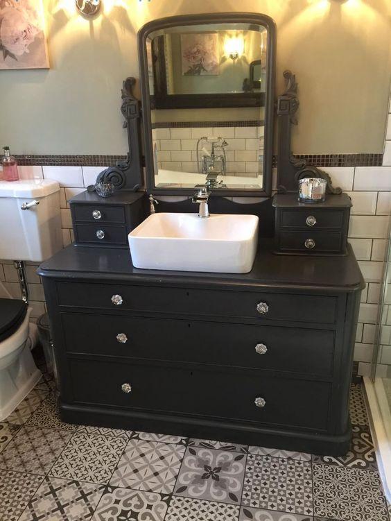 25 Unique Bathroom Vanities Made From Furniture Unique Bathroom