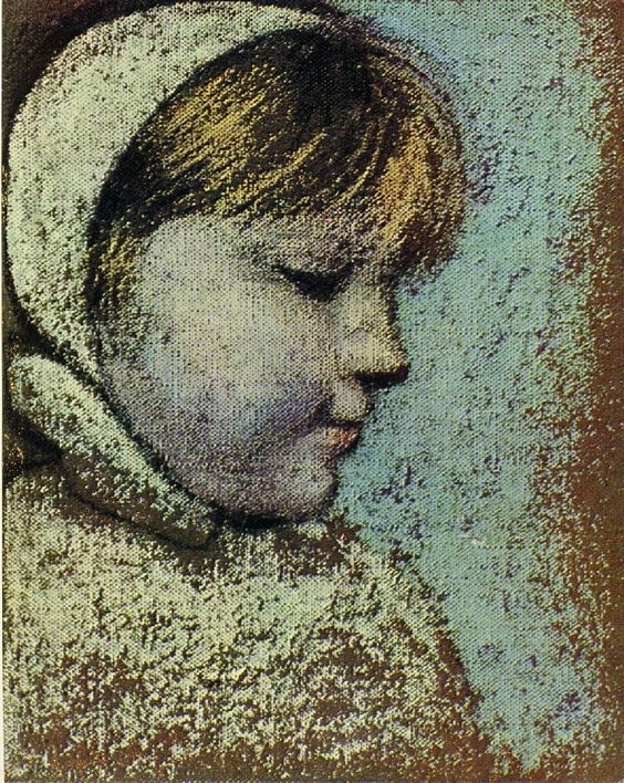 Portrait of Maya, 1938  Pablo Picasso