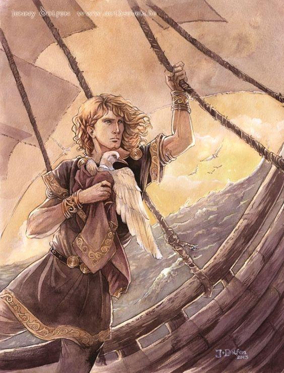 Earendil the Mariner (c) Jenny Dolfen (Silmarillion)