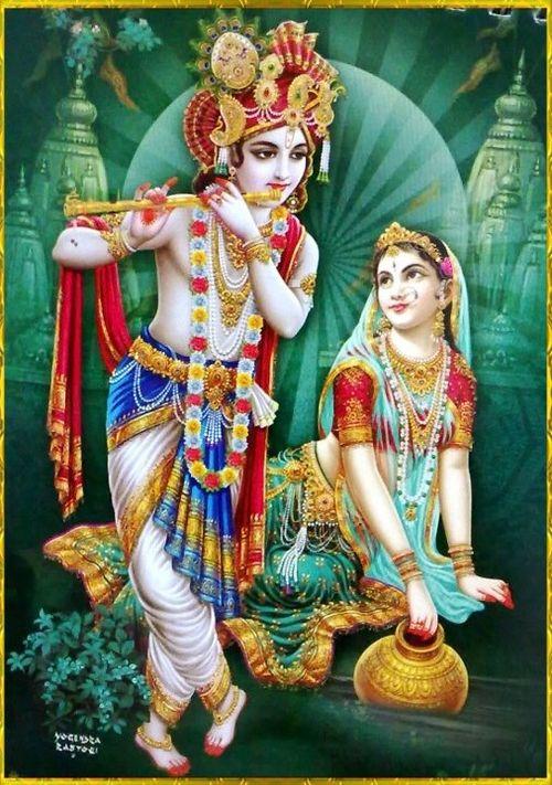 Radha and Krishna -- Love and Devotion