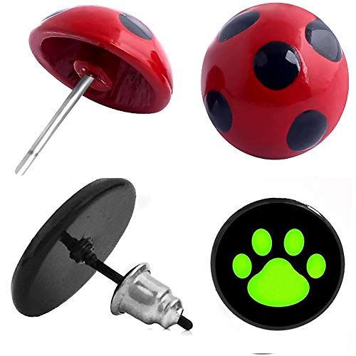 ladybug boucle d'oreille