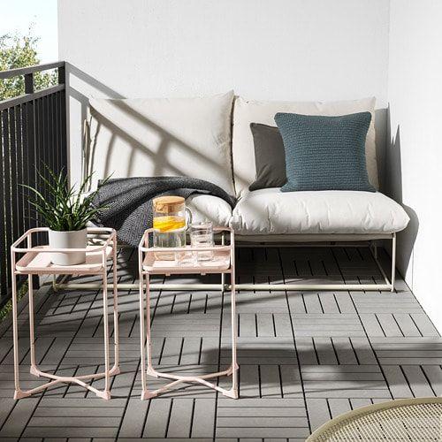Ikea Kryddpeppar Indoor Outdoor Pink Plant Stand Outdoor