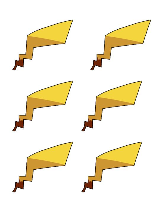 Pokemon pikachu tail template images pokemon images 261068109626004370 pronofoot35fo Gallery