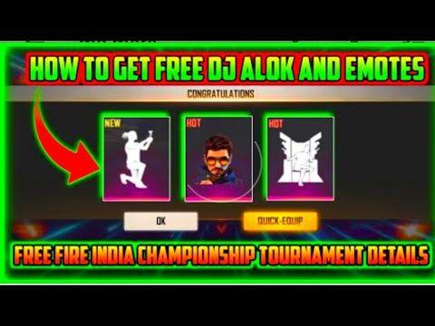 Free Fire Alok Character Free In Telugu Youtube Episode Free Gems Diamond Free Free Characters