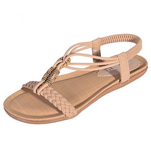 Hee Grand Damen Maedchen Sommer Schuhe Bohemia sexy Ladies Flat Strand Freizeit Sandale - http://on-line-kaufen.de/hee-grand/hee-grand-damen-maedchen-sommer-schuhe-bohemia