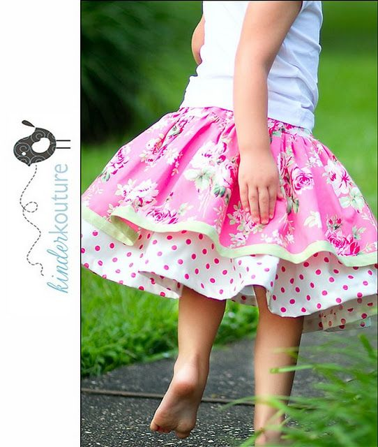 Used this as inspiration for Easter skirts for my two little girls.  Such fun and full skirts.
