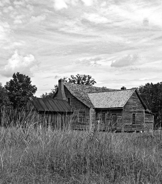 Bonham House in Saluda County, South Carolina.