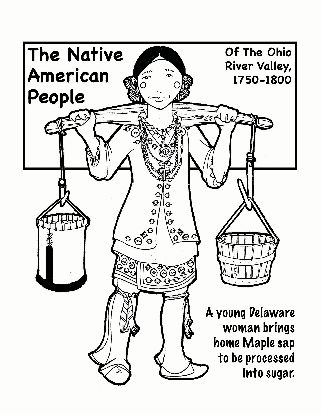 native american history coloring pages - photo#14