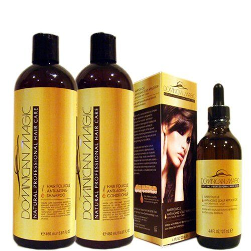 Dominican Magic Anti-Aging Scalp Applicator, 4.4 Fluid Ounce click image to go to my site.